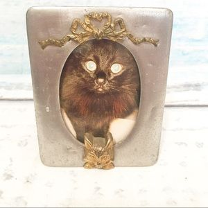 Crazy Cat Lady Mini Metal Picture Photo Frame